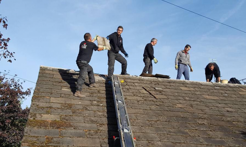 Carrying Out Roofing Work