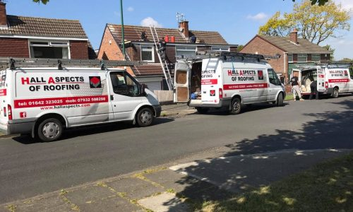 Hall Aspects of Roofing Vans